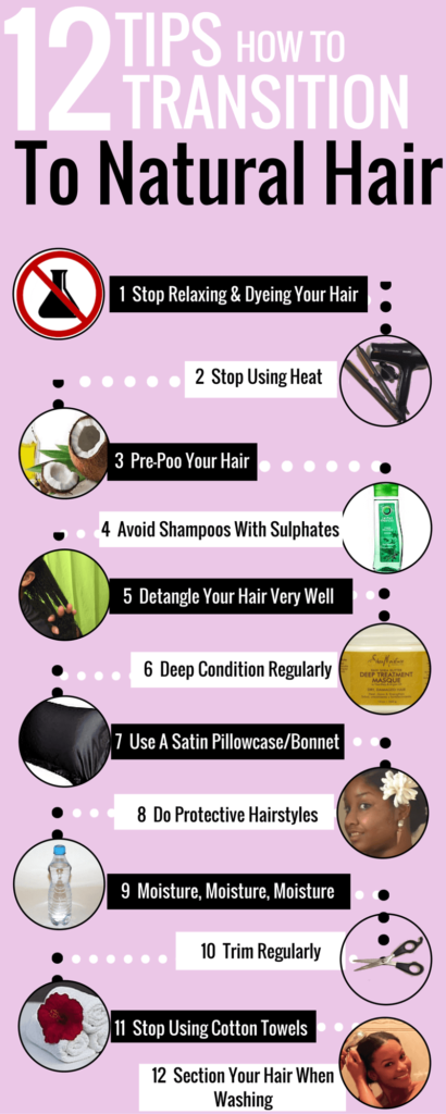 12 Tips How To Transition To Natural Hair