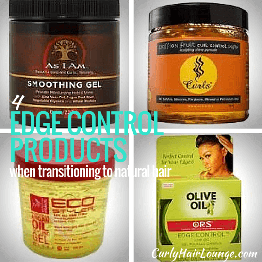 4 Edge Control Products When Transitioning To Natural Hair