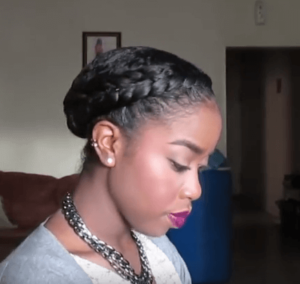 Protective Braid Styles For Transitioning Hair Protective Hairstyles For Transitioning Hair  Curly Hair Lounge
