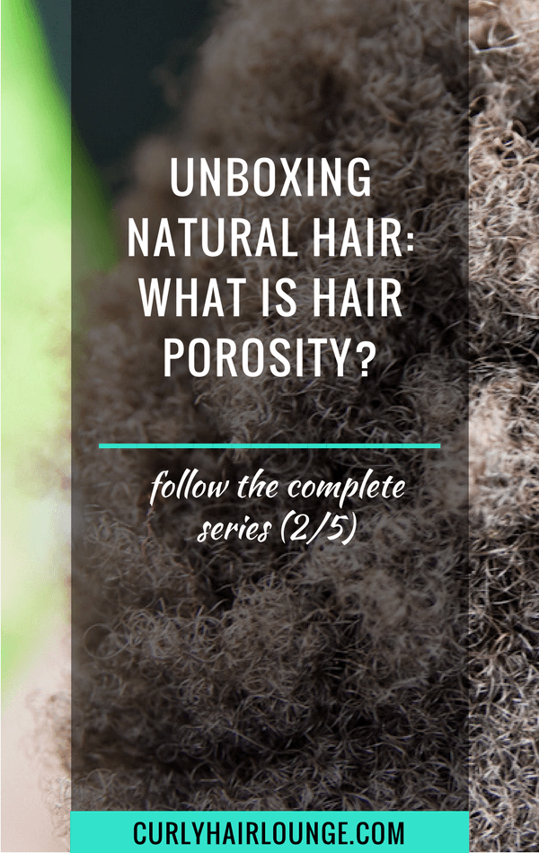 Unboxing Natural Hair What Is Hair Porosity