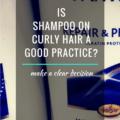 Shampoo On Curly Hair