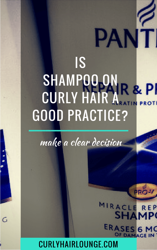Shampoo On Curly Hair