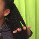 Detangling Transitioning Hair