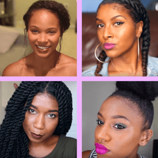 Protective Hairstyles YouTube Vloggers