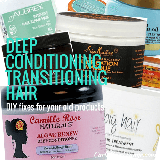 Deep Conditioning Transitioning Hair