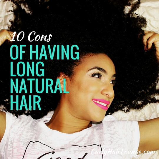 10 Cons of Having Long Natural Hair (1)