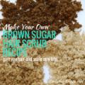 Brown Sugar Hair Scrub Recipe
