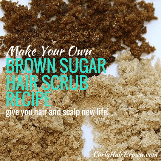 Brown Sugar Hair Scrub Recipe