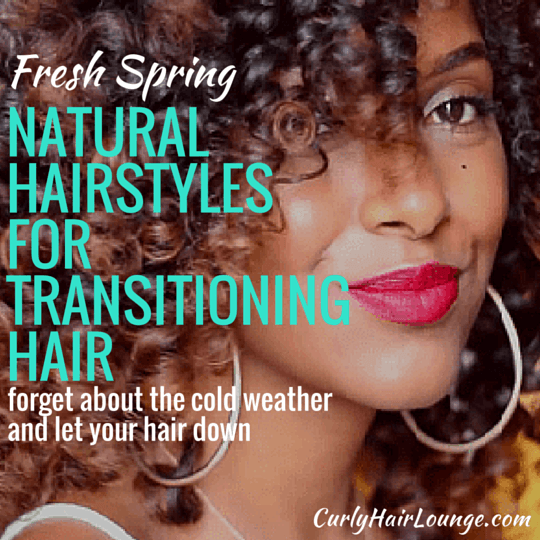 Fresh Spring Natural Hairstyles For Transitioning Hair