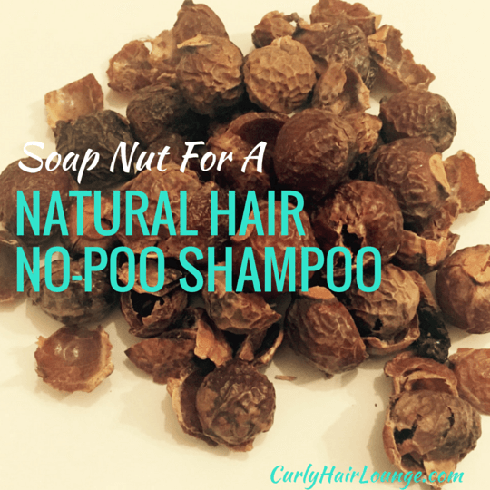 Soap Nut For A Natural Hair No-Poo Shampoo