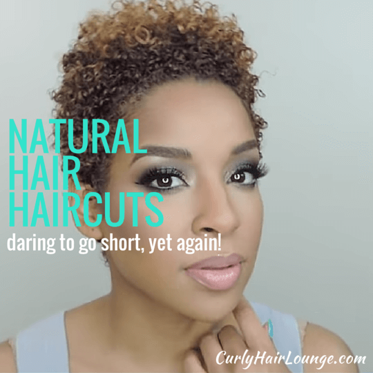 Natural Hair Haircuts Daring To Go Short Again