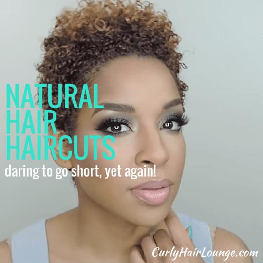 Natural Hair Haircuts