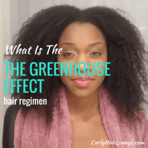 What Is The GreenHouse Effect Hair Regimen