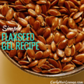 Simple Flaxseed Gel Recipe