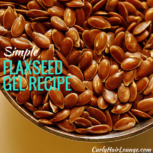Simple Flaxseed Gel Recipe