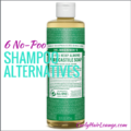 6 No-Poo Shampoo Alternatives