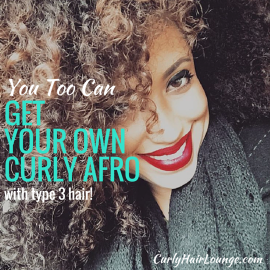 Get Your Own Curly Afro