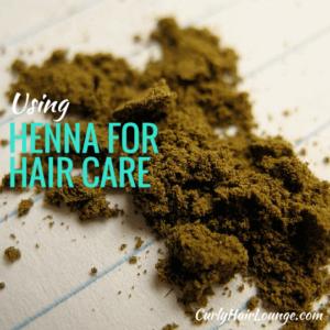 Henna For Hair Care