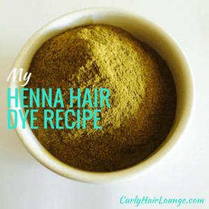 My Henna Hair Dye Recipe