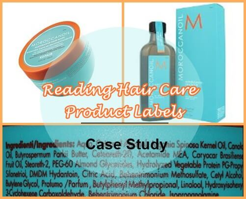 Reading Hair Care Product Labels