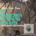 DIY Maroccanoil Restorative Hair Mask