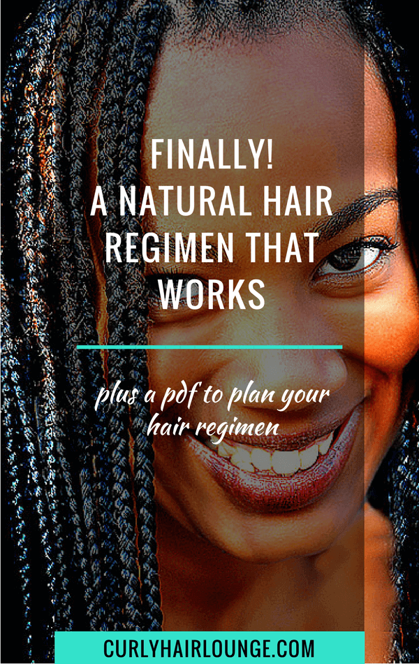 Finally A Natural Hair Regimen That Works