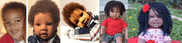 Brown Sugar Belle Baby Dolls