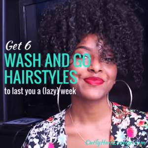 Get 6 Wash and Go Hairstyles To Last You a Week