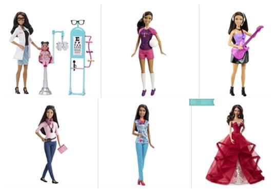 Mattel African American Dolls