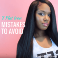 7 Flat Iron Mistakes To Avoid