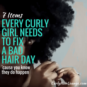 7 Items Every Curly Girl Needs To Fix A Bad Hair Day