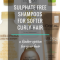 6 Sulphate Free Shampoos For Softer Curly Hair