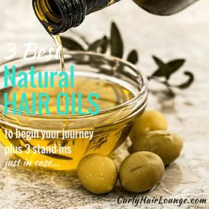 3 Best Natural Hair Oils
