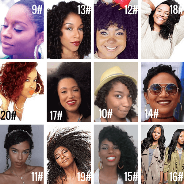 American Natural Hair Vloggers