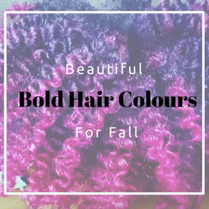 Beautiful Bold Hair Colours For Fall