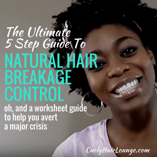 The Ultimate 5 Step Guide To Natural Hair Breakage Control