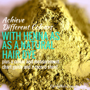 Achieve Different Different Colours With Henna As A Natural Hair Dye