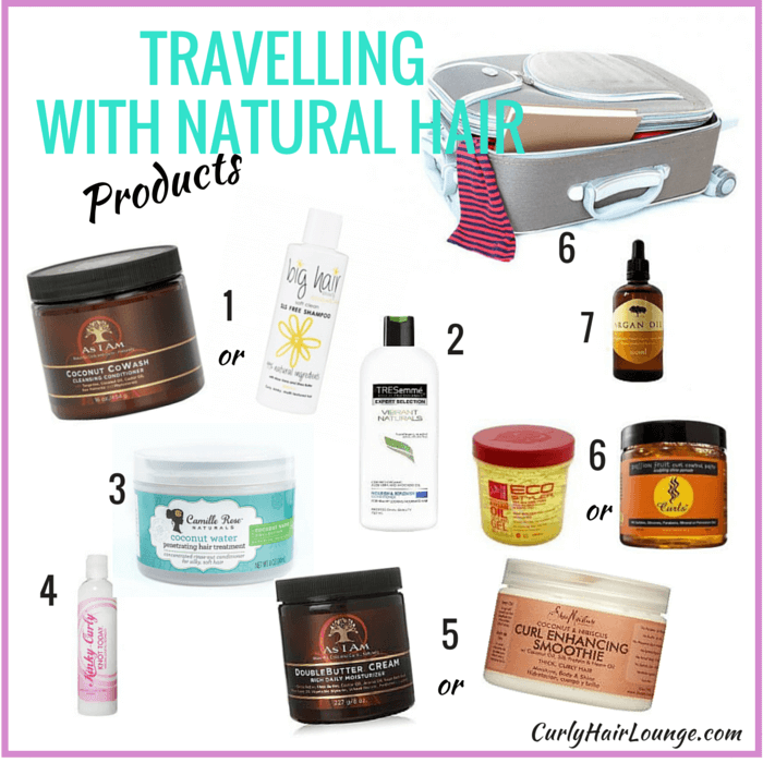 Travelling with Natural Hair_Products