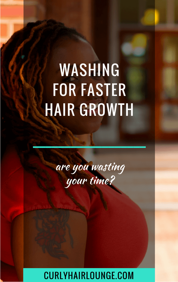 Washing For Faster Hair Growth