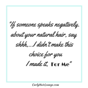 If Someone speaks negatively