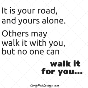 It is your road,