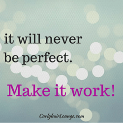 It will never be perfect