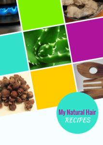 My Natural Hair Recipes