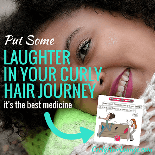 Put Some Laughter In Your Curly Hair_Journey