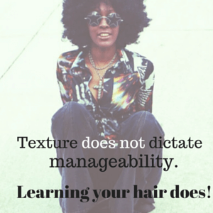 Texture does not dictate