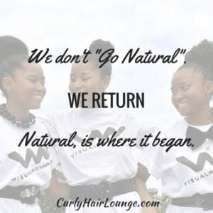 We dont Go Natural