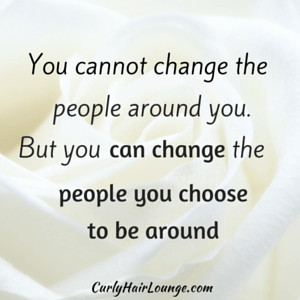 You cannot change people