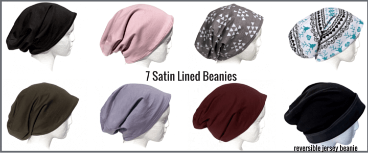 Breezy Tee satin lined beanies