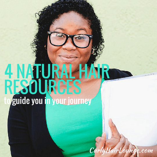 4 Natural Hair Resources