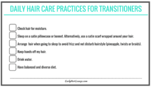 Daily Hair Care Practices_Checklist